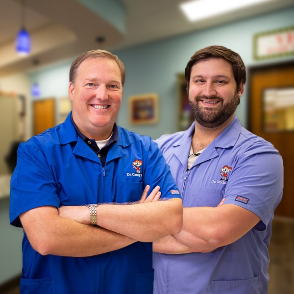 Willow Park pediatric dentists Dr. Stroud and Dr. Ball