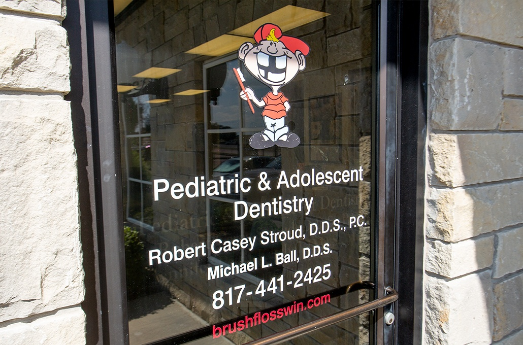 Front entrance of Stroud Pediatric Dentistry